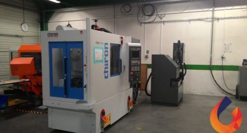Nieuwe Chiron bewerkingsmachine in bedrijf bij CIREX Finishing & Machining CZ