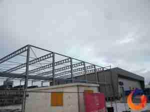 bouw nieuwe productiehal cirex