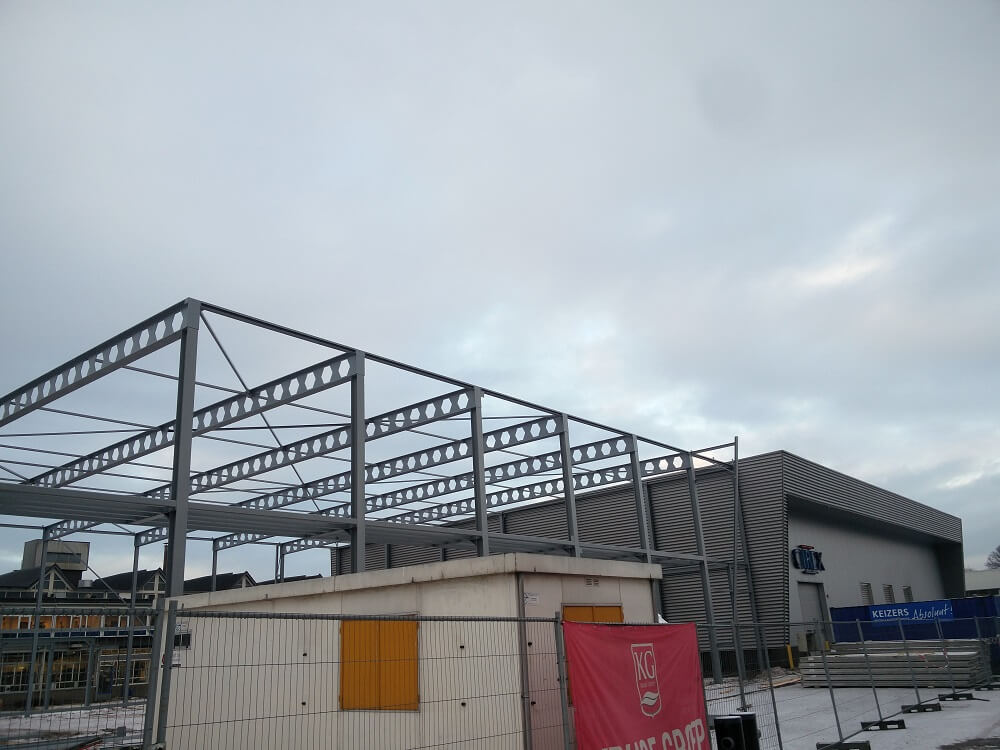 Nieuwe productiehal vormenbouw CIREX bijna gereed