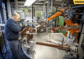 """Artikel in TC Tubantia: """"Cirex in Almelo kan de concurrentie aan, met dank aan de vele robots"""""""